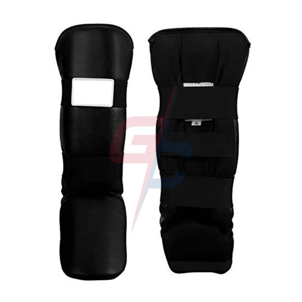 Boxing Vinyl Shin & Instep Guards MMA Boxing Shin Guard / Taekwondo shin Guard Cheap Price Wholesale