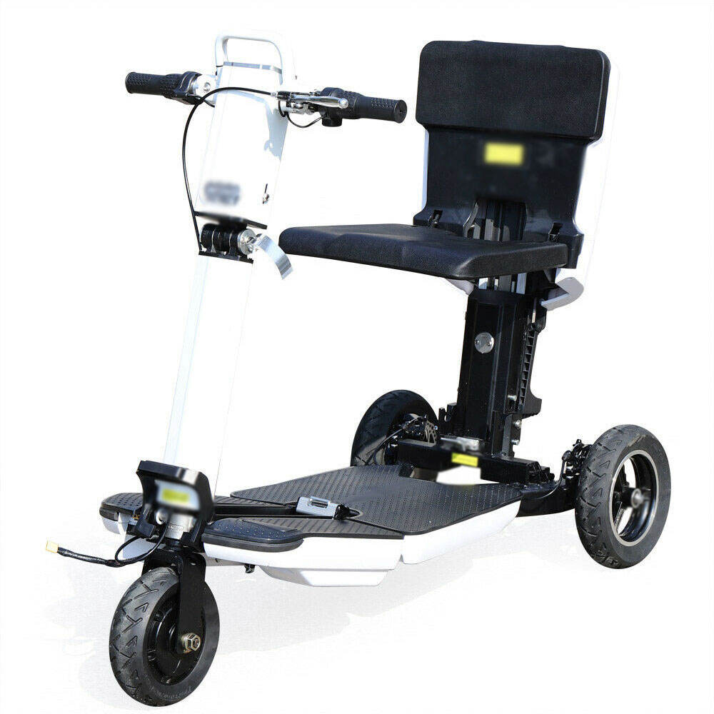 3 Wiel Opvouwbare E L E <span class=keywords><strong>C</strong></span> T R I <span class=keywords><strong>C</strong></span> Scooter Mobiliteit-Scooters-Voor Volwassenen 20 Km/h 350W 48V