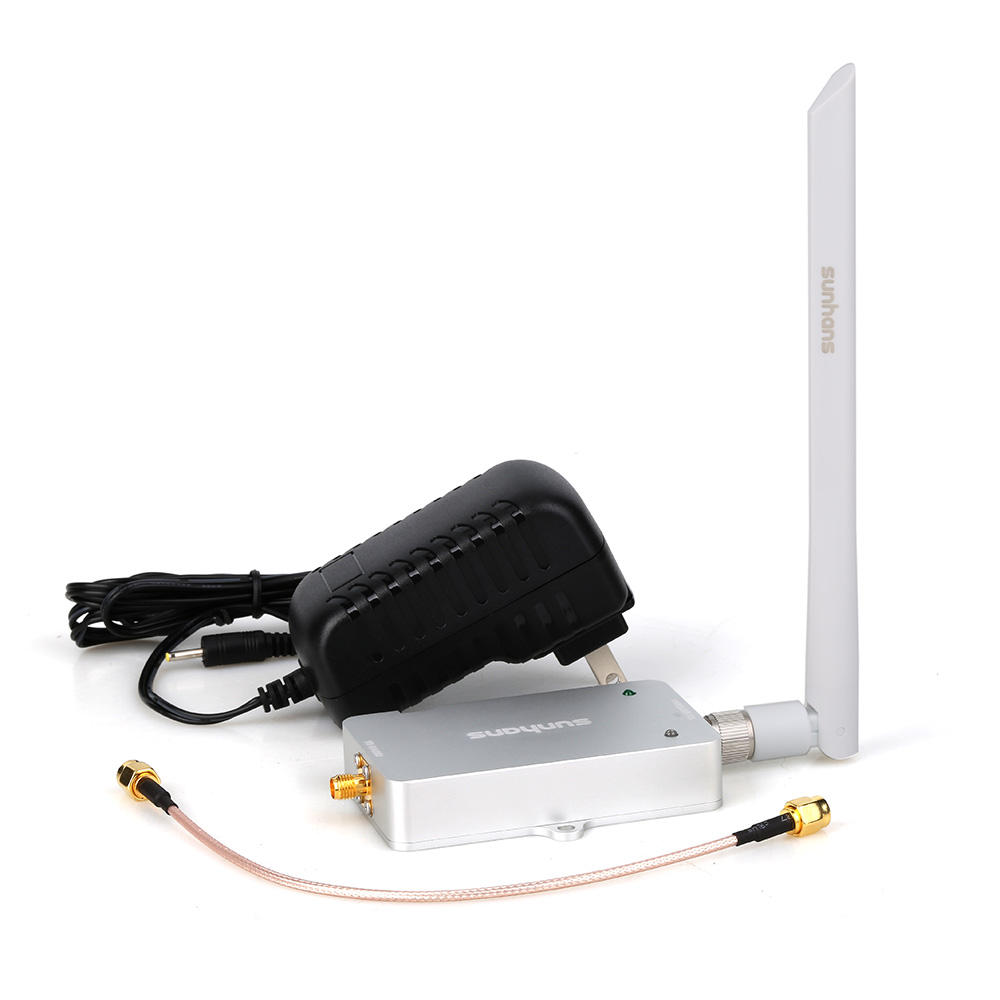 wifi booster 4w sunhans 5.8GHz 4W wifi amplifier booster extend wifi signal range SH58Gi4000P Signal booster amplifier extender