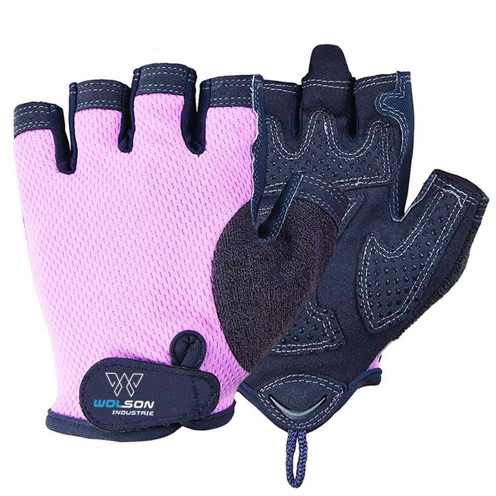 High Quality Customized Bodybuilding Women Weight Lifting Gloves