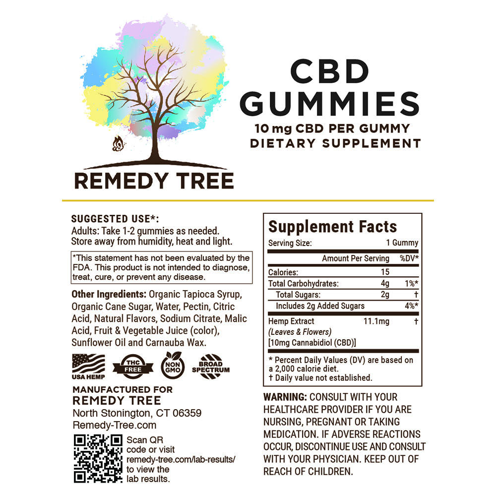 CBD infused good quality vitamins CBD Gummies 10mg