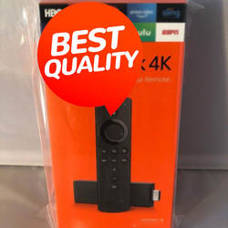 Am_azon Firre T V Sttick 4K Streaming Player with Al-exa Voice Rem'ote