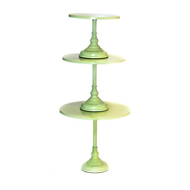 Manufacturer metal alloy material dessert display stand factory price cake stand wedding Fredela 3 Piece/tier Cake Stand Set