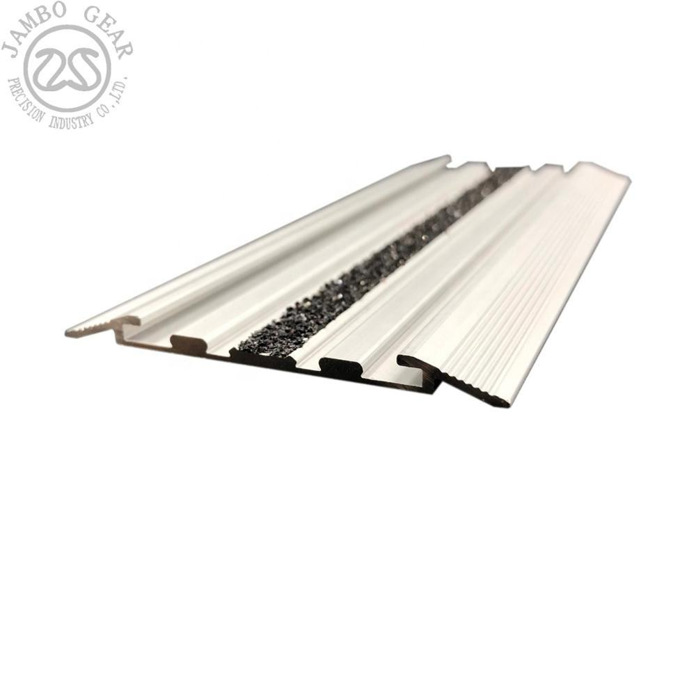 Taiwan aluminum profile for anti slip stair tread