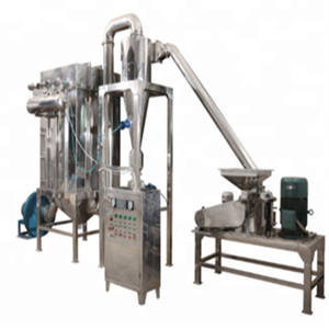 commerical ginger powder making machine