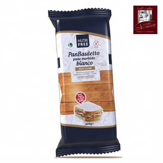 300 g Gluten Free Sliced Soft Bread Giuseppe Verdi Selection Bread Made in Italy