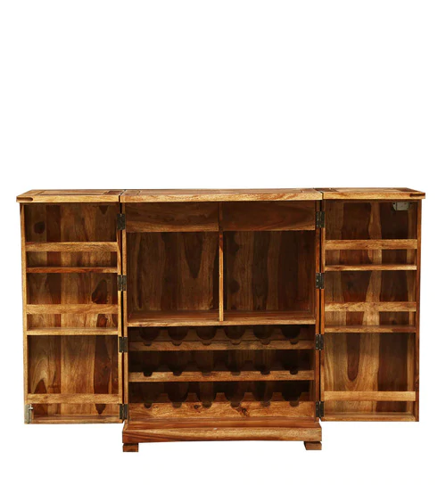 Classic Commercial Contemporary Handcrafted Bar Furniture for Wine Storage Living Room,Farmhouse Bar Cabinet