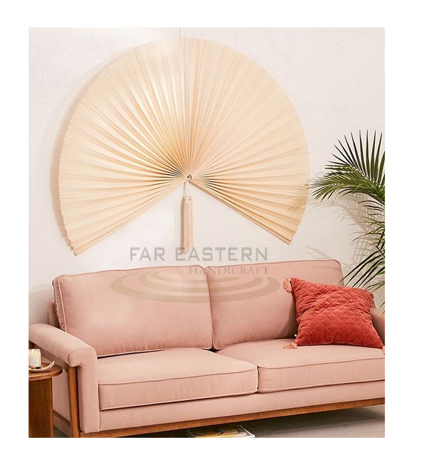 High Quality Bamboo Wall Fan Wall Decoration Bamboo Crafts Art Hand Fan