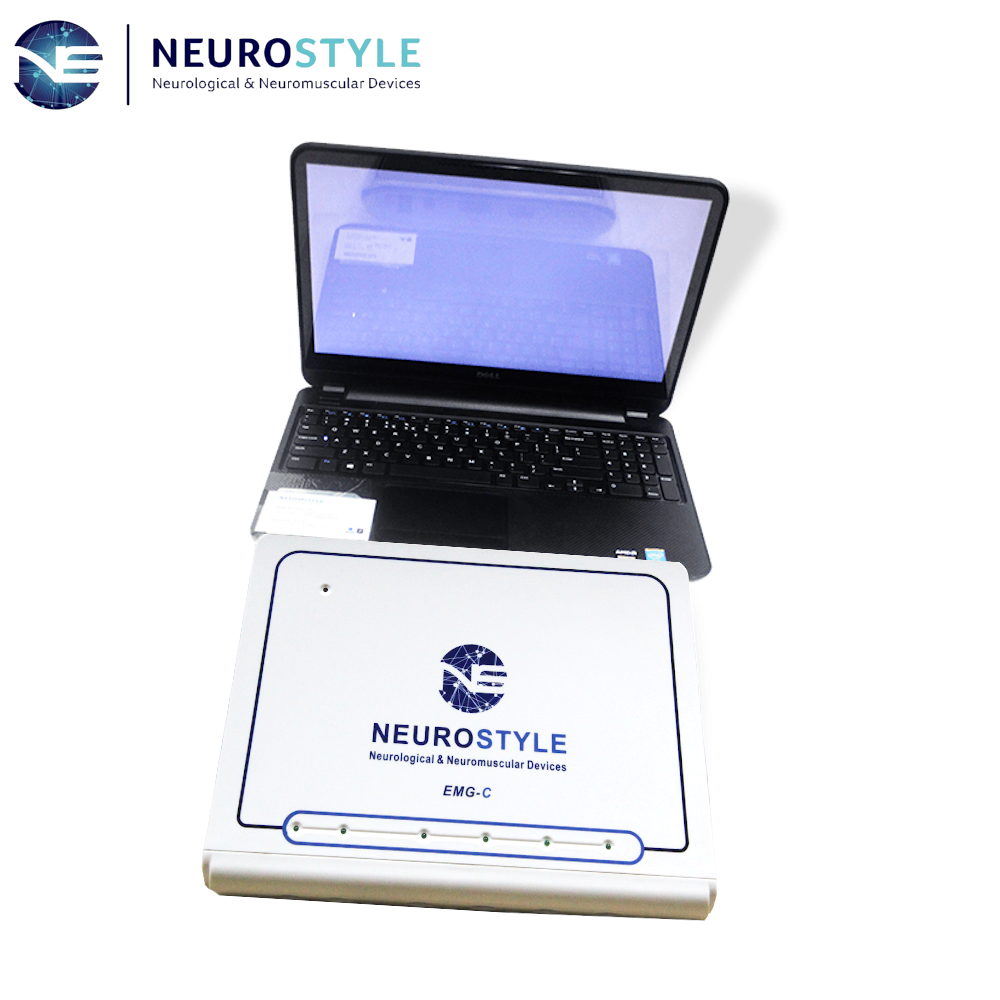 4 Channels NS-EMG-C-1 quantitative emg machine with NCV EP