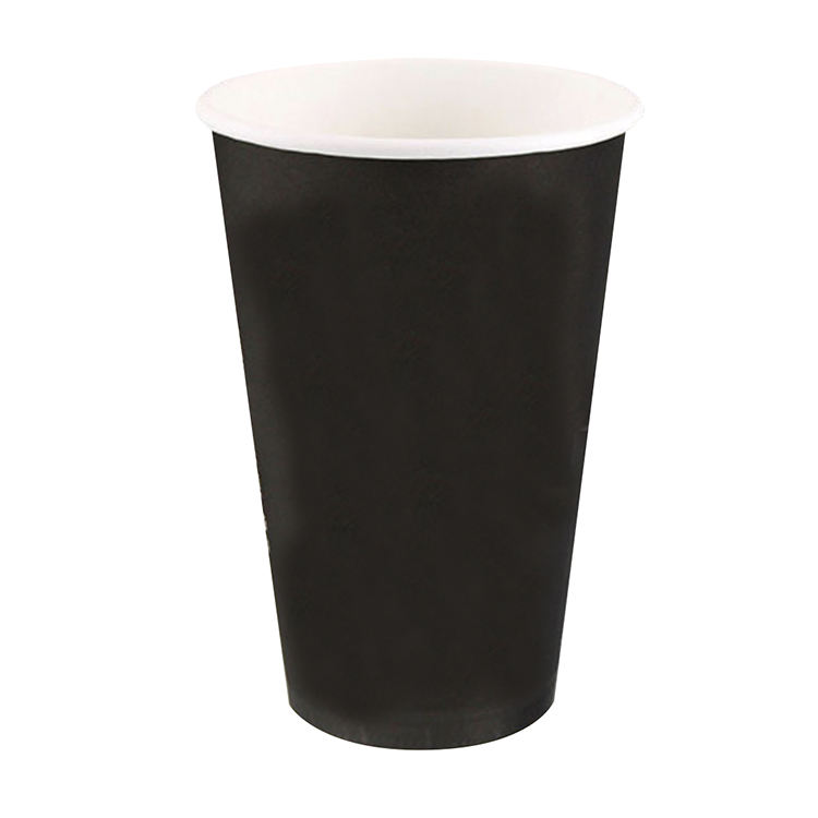 Taiwan 16oz Single Wall Paper Disposable Coffee Cups
