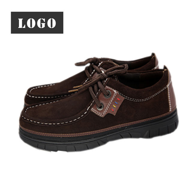 Detachable Suede Upper Men Casual Zipper Shoes