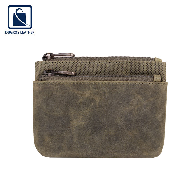 2020 New Arrival Vintage Style Women Genuine Leather Coin Pouch/ Coin Purse