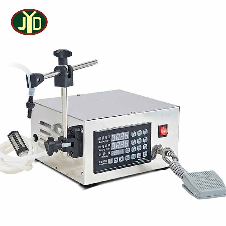 JYD Manual Filling Beer Liquid Bottle Filler Automatic Cooling Design Liquor Filling Machine/Counting Function Filling Machine