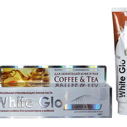 White Glo Whitening Toothpaste, For Coffee And Tea Lovers, 100g Tooth Protection