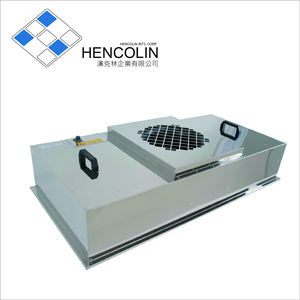 Hencolin High Efficiency H13 FFU Fan Coil Unit Filter With Industry ffu system
