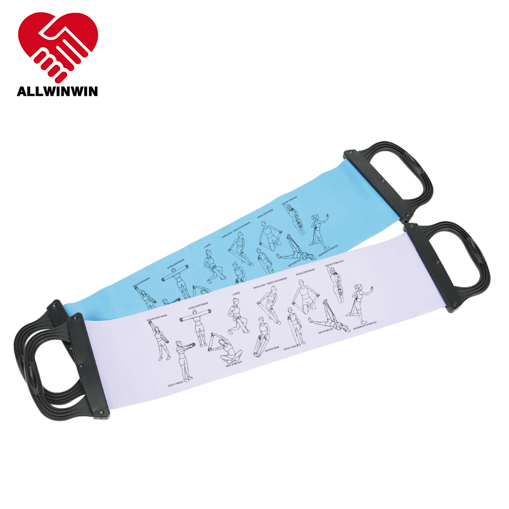 Allwinwin RSB03 Weerstand Band Steel Illustratie Fitness Workout Fysieke Therpay Oefening