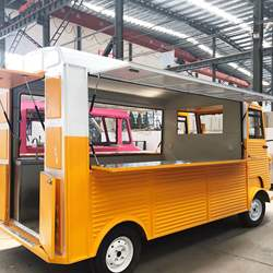 Food Car Trailer Mobile Food Truck For Sale