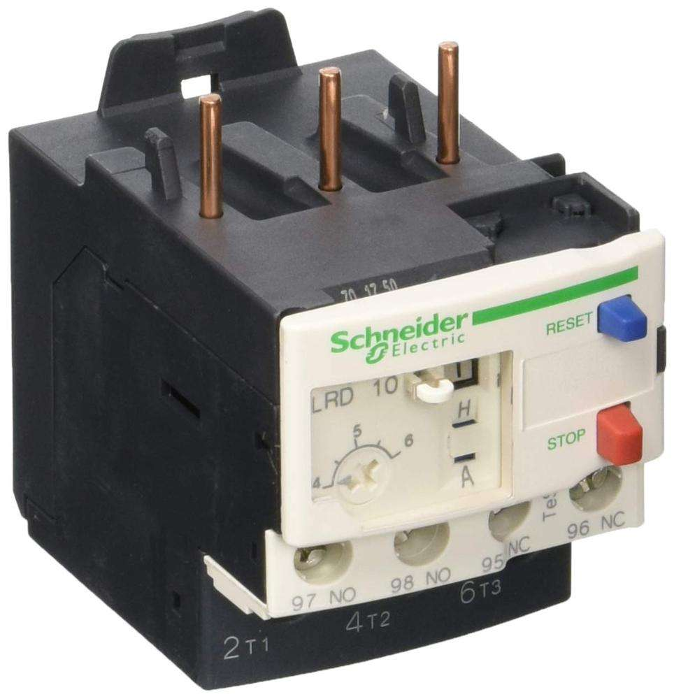 Schneider LRD10 telemecanique thermal magnetic overload relay