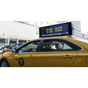 Impermeabile A Due Lati HA CONDOTTO LA Luce Auto Display A LED di Taxi Luce del Tetto Segni
