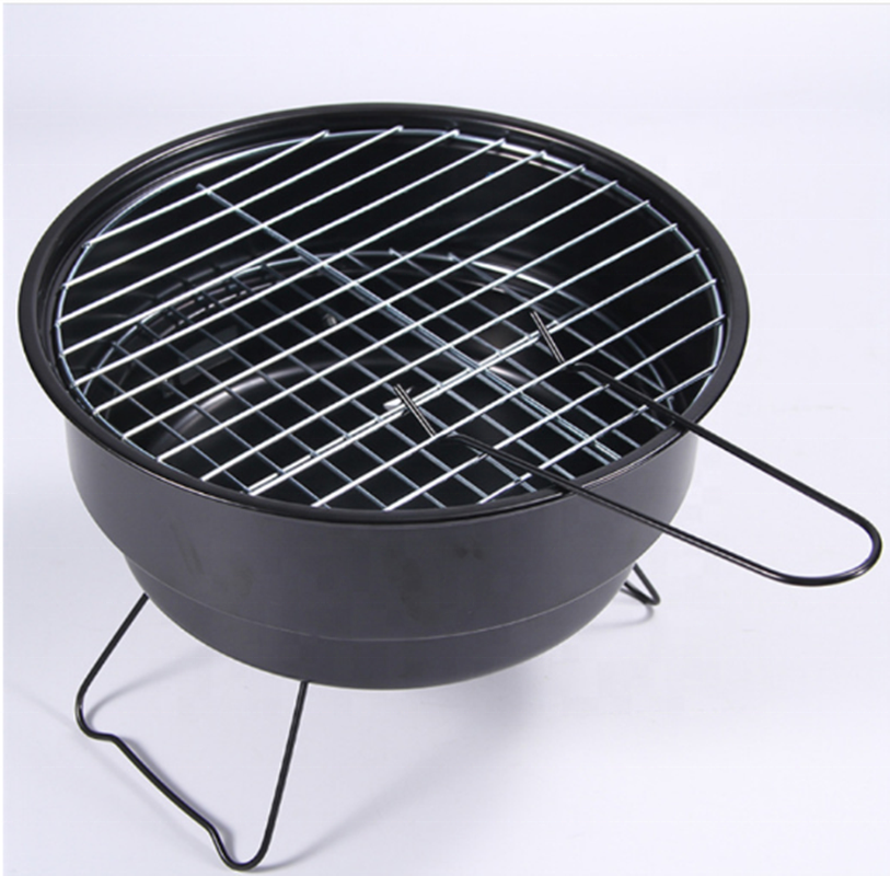 hibachi Black Body Packing convenient tabletop grill camping grill BBQ grill