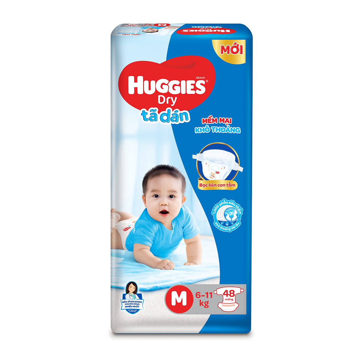 Huggie Diapers Bag Size M 48pcs x4