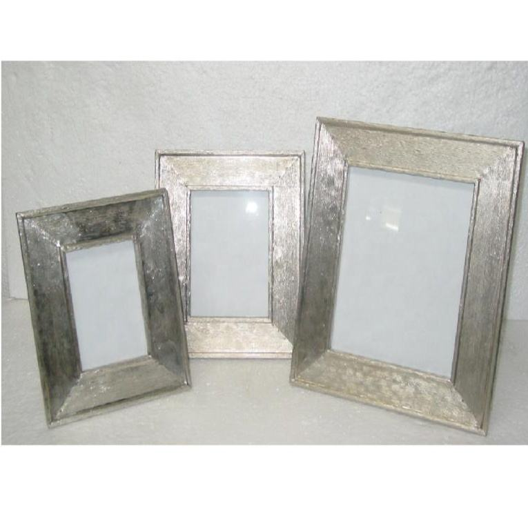 Hot Selling White Metal Pasted Picture Frame
