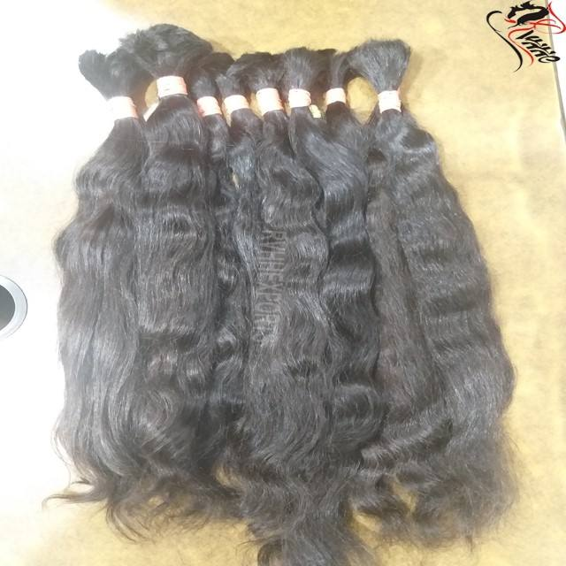Human Bulk Hair For Braiding