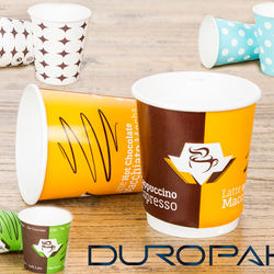 Cup Fan Wholesale Promotional Eco Printed Paper Custom OEM Customized Wall Logo Item Style Coffee Food Pcs Color Design Feature