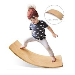 Wholesale Fitness Training Yoga Exercise Wooden Wobble Exerc