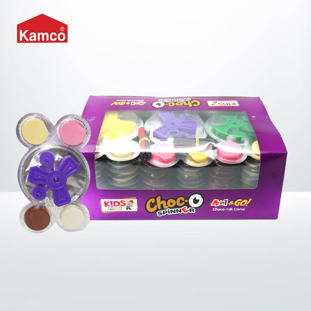High Quality 4 in 1 Chocolate with Game Spinners