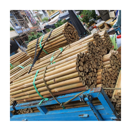 Cheap Vietnamese Bamboo Poles Manufacturers / Straight bamboo cane for construction and building materials Kaylin +84 817092069