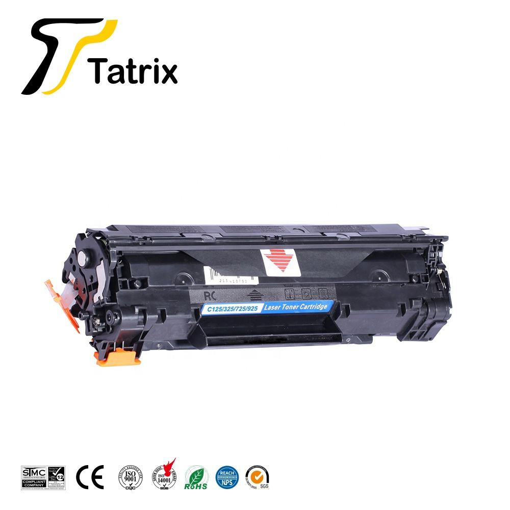 Tatrix Kompatibel Laser Toner Cartridge CRG125 CRG325 CRG725 CRG925 CRG 925 725 125 325 untuk Canon MF3010 Printer