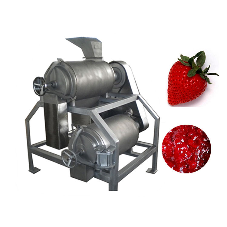 Quality assurance fruit pulp homogenizer pulping fruit machine puree blending and extraction machine