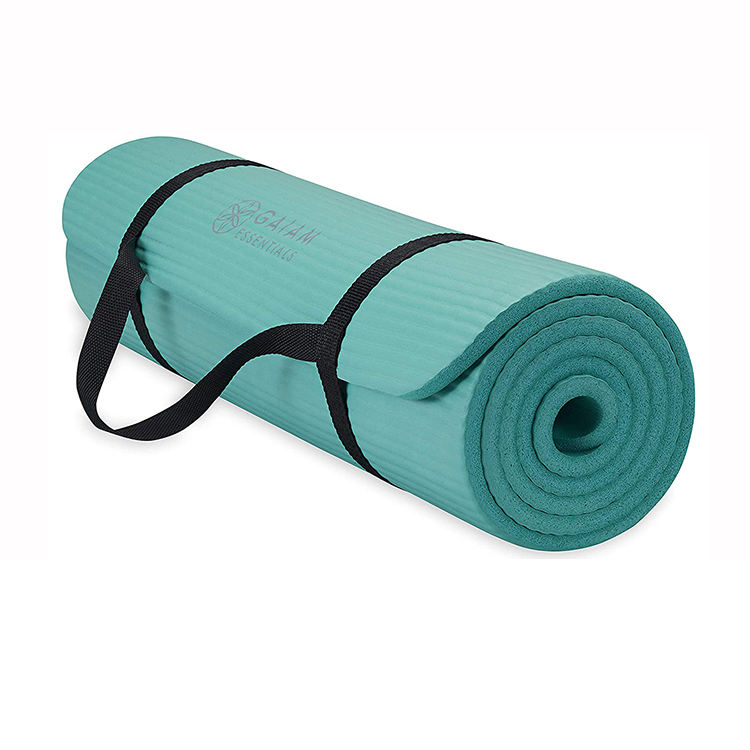 Eco-friendly [ Yoga Mat ] Yoga Custom Thick Colorful Cork/pu/pvc/tpe Eco Friendly Fitness Yoga Mat With Bag