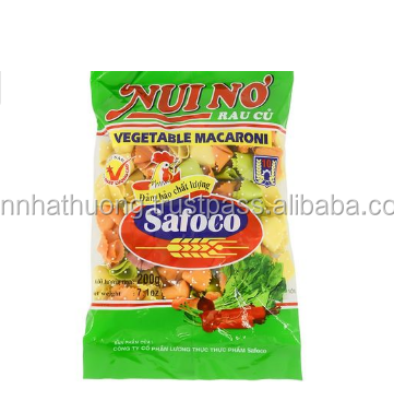 500G BAG PACKING VEGETABLE MACARONI_ MACARONI MADE IN VIETNAM THE PRODUCT HIGH QUALITY