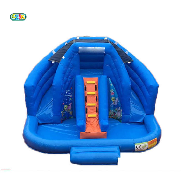 mini commercial inflatable backyard ocean world water park