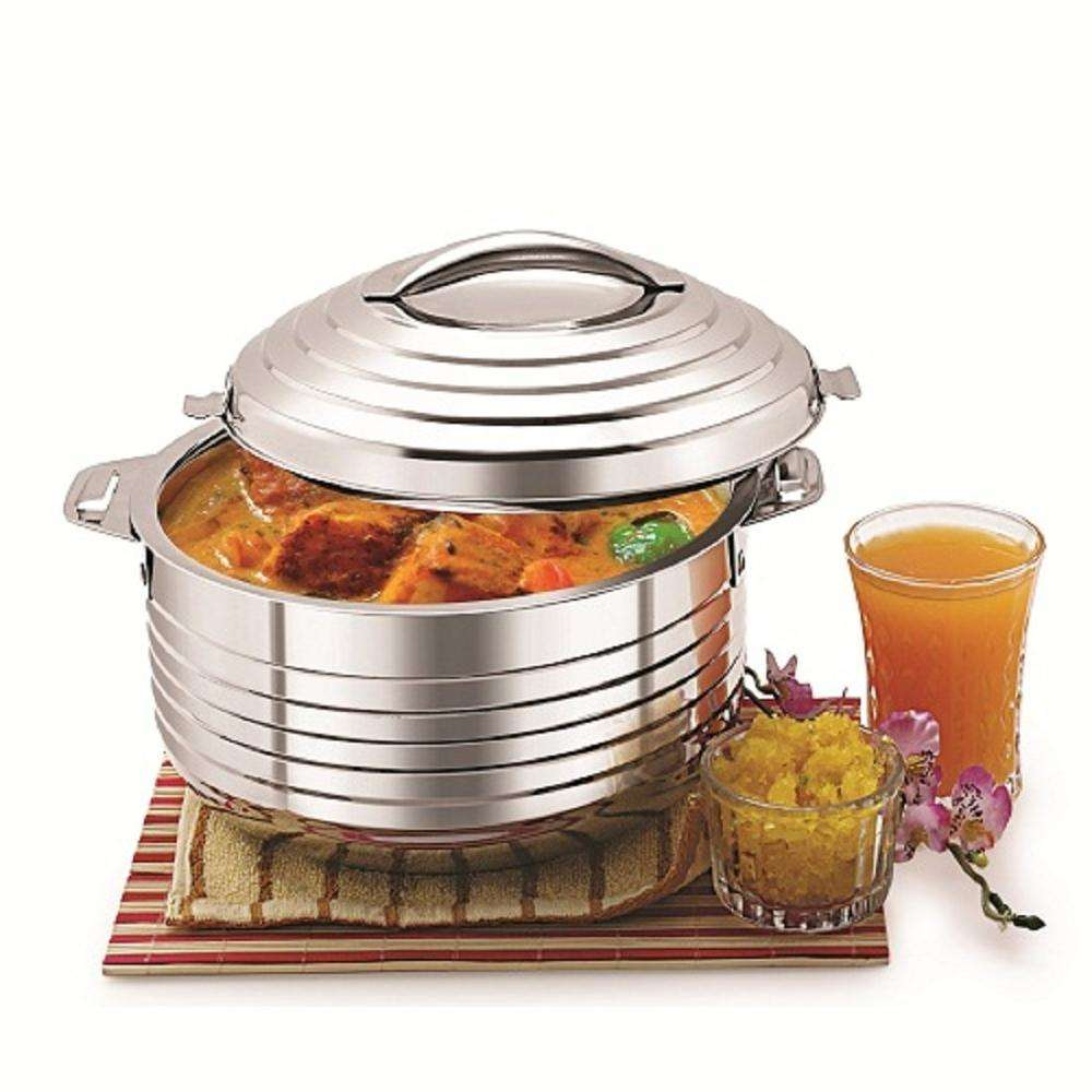 Stainless steel insulated hot pot big casserole