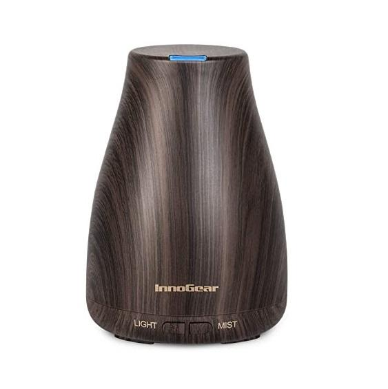FREE DELIVERY InnoGear Essential Oil Diffuser, Upgraded Diffusers for Essential Oils Aromatherapy Diffuser Cool Mist Humidifier
