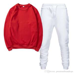 Baqeal Rot frauen sweatsuit 2020 Eurpeon stil kleidung vogue casual oversize langarm top und hosen trainingsanzug set jogging