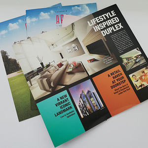 Customized Printing Brochure / Flyer at the Hight Quality and Low Price