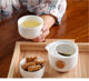 Ceramic Japanese Style Portable Tea Pot Set With Strainer