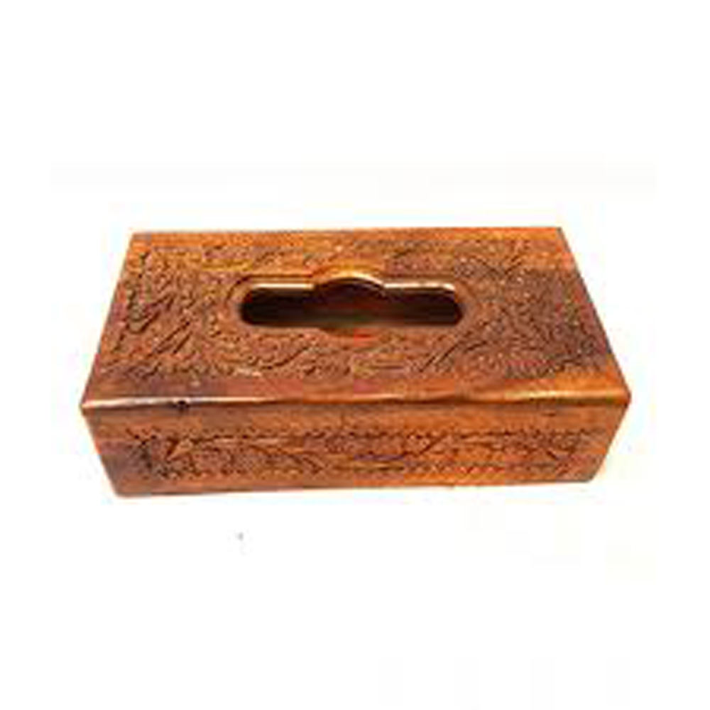 Eco friendly Wooden handicraft Tissue Box