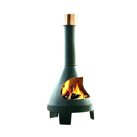 Outdoor Chiminea Metal Fire Pit