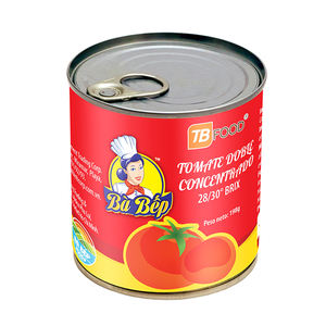 Wholesale High Quality Bulk Canned 198 g Tomato Paste With Good Taste