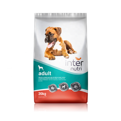 Dry food for adult dogs of all breeds | INTERNUTRI ADULT 20kg