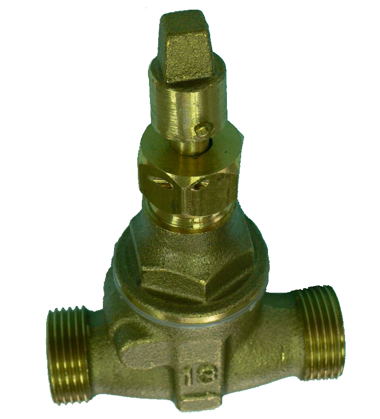 check pressure reduce hot cool water valves