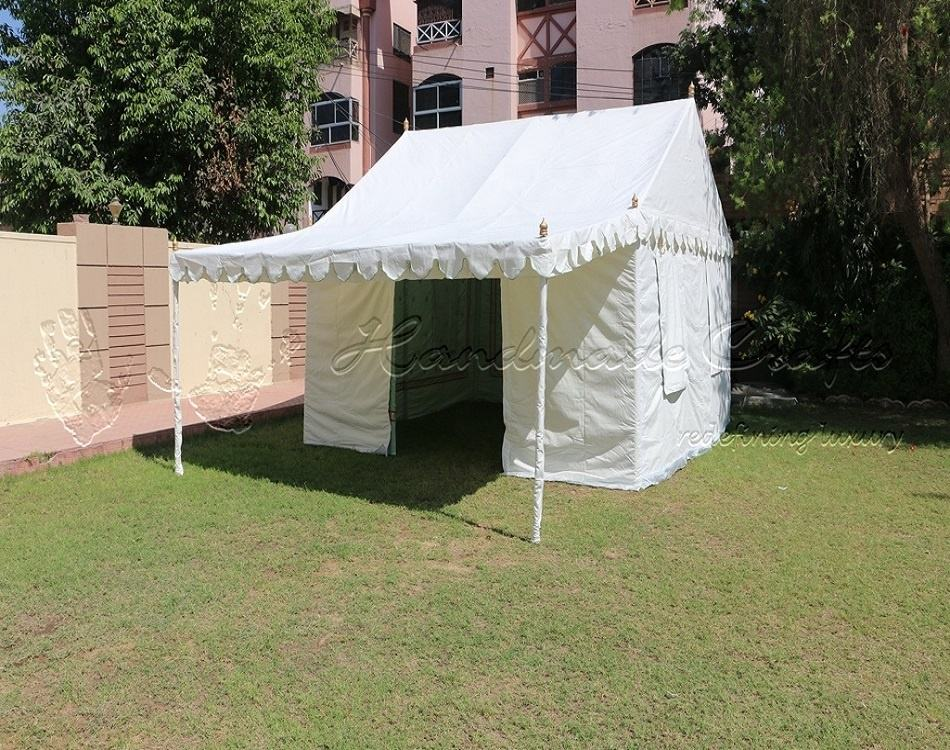 Small canvas Resort tent