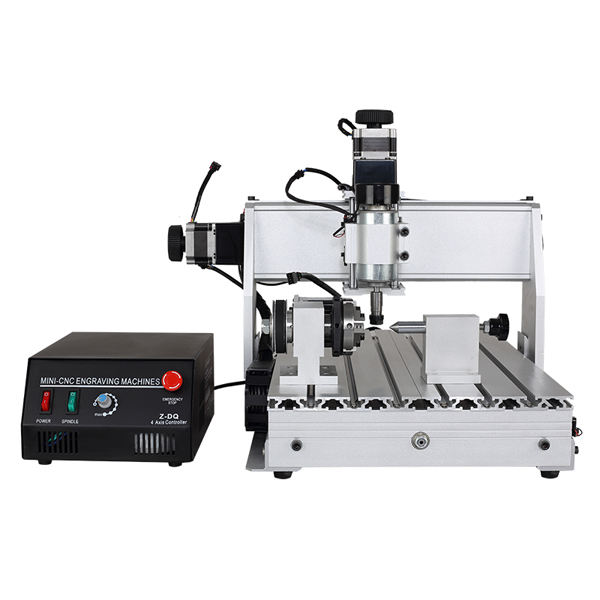 China Hot sales cnc machines 3040 4 Axis cutting CNC metal milling router engraving machine 500w water cooled spindle