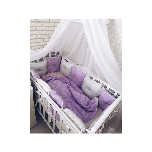 Sleeping Bassinet Canopy Baby Bed