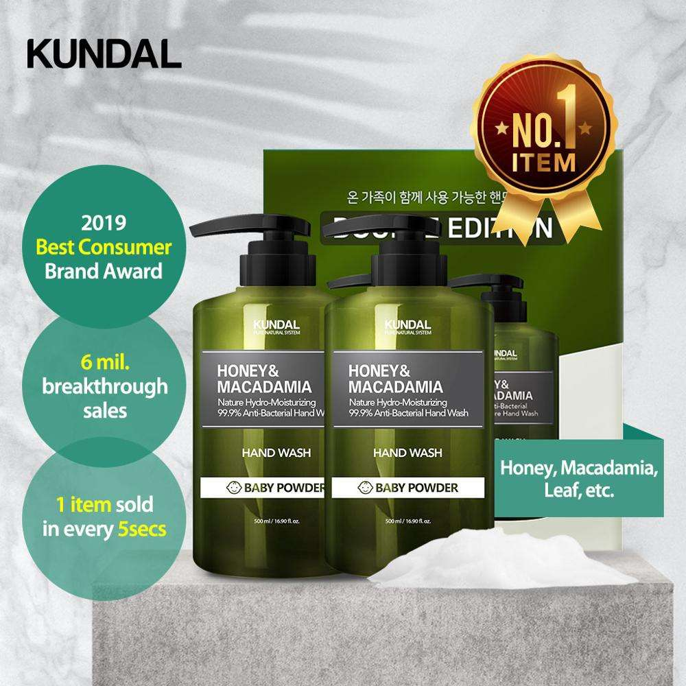 Kundal Nature & Pure Hand Wash 258ml